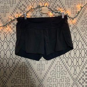 lululemon | black essential classic shorts